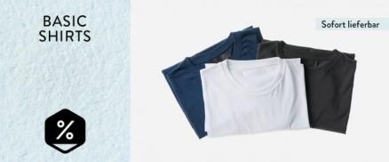 Basic Shirts - Aktion läuft bis 30.01.2020