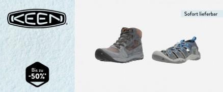 Keen Footwear - Aktion läuft bis 30.01.2020