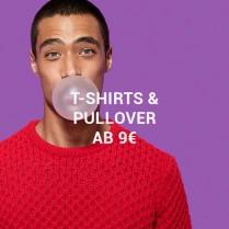 Bis 77% Rabatt - T-Shirts & Pullover ab 9€ für ihnAktion läuft vom 13.Aug 2020 bis 15.Aug 2020