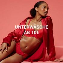 Bis 77% Rabatt - Unterwäsche ab 10€ für sieAktion läuft vom 13.Aug 2020 bis 15.Aug 2020