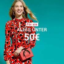 Bis 80% Rabatt - Alles unter 50€ für sieAktion läuft vom 13.Aug 2020 bis 15.Aug 2020